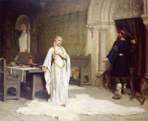 painting of Lady Godiva